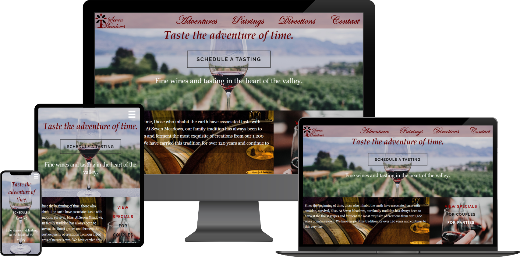 Slide of winery